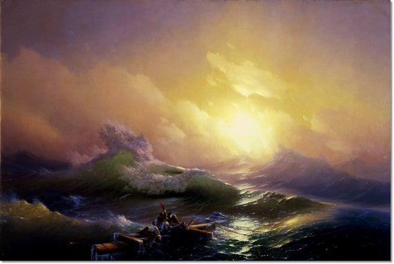 Ninth Wave Aivazovsky