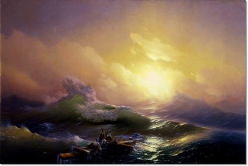 Ninth Wave Aivazovsky